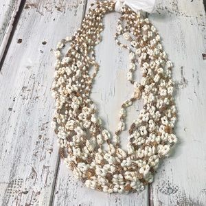 Jewelry - 12 Seashell Lei Necklaces